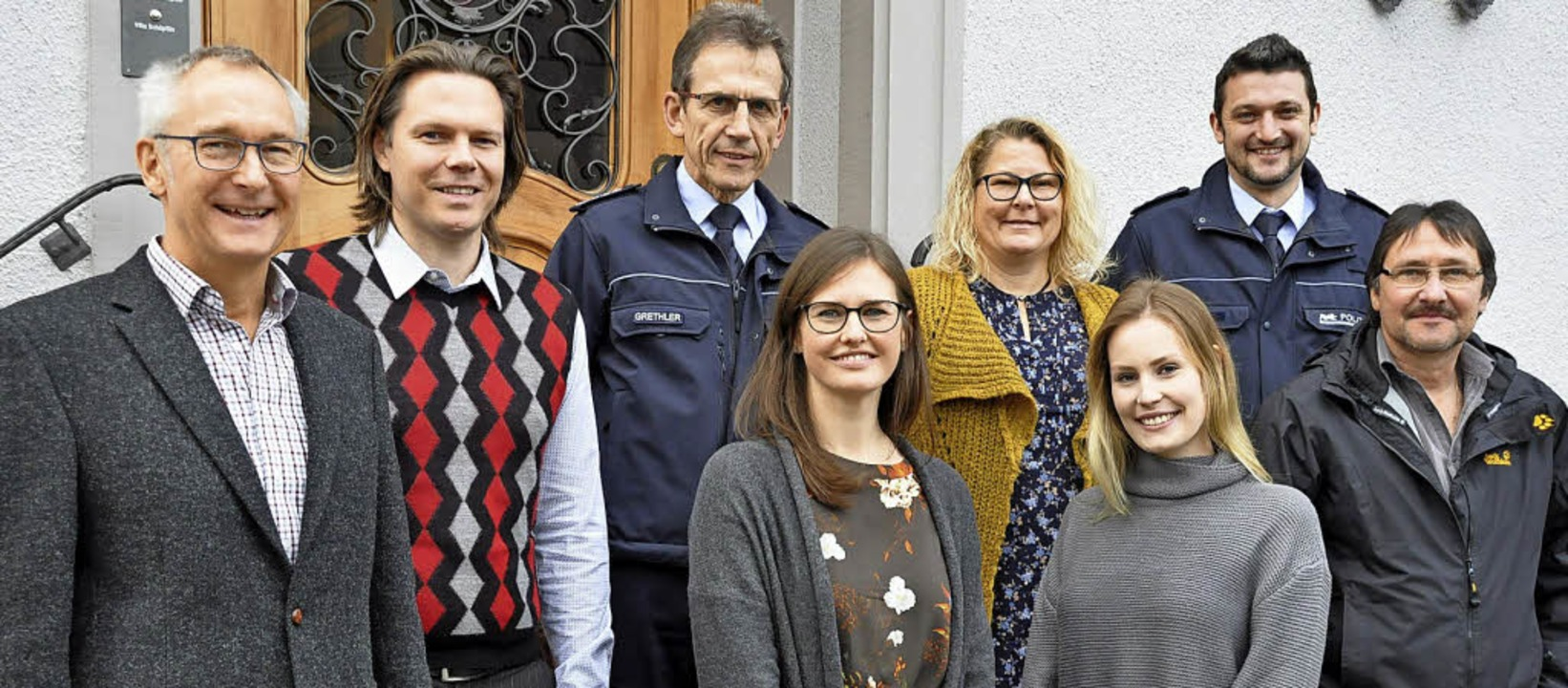 Sorgen für Jugendschutz (von links): S...k Gerspach (Ordnungsamt Rheinfelden).   | Foto:  Ras