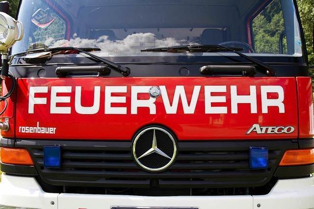 Feuerwehr löscht Brand in Rieselfelder Dachgeschosswohnung