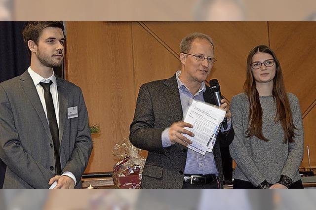 Preis des Landkreises für aktive Jugendliche