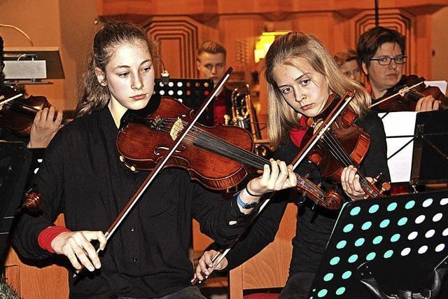 Gesamtes THG-Ensemble imponiert
