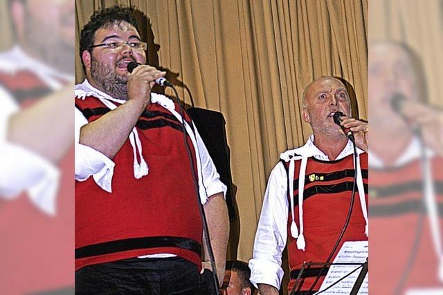 Blasmusiker, die singen können