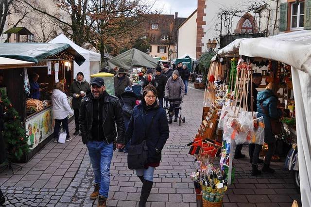 Ein Bummel über Schopfheims Weihnachtsmarkt