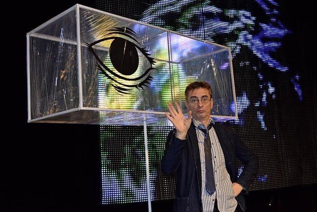 Mathias Richling in Lörrach: Der Derwisch des Kabaretts