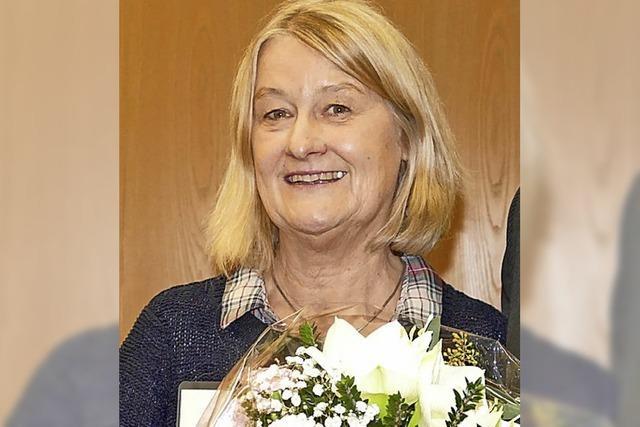 Regina Wessely ist seit 20 Jahren im Dienst der Gemeindepolitik