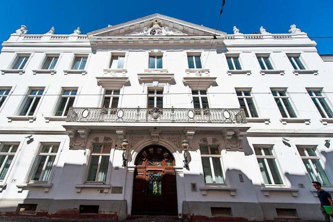 Schauplatz des Rechtsstaates: Das Landgericht Freiburg  | Foto: dpa