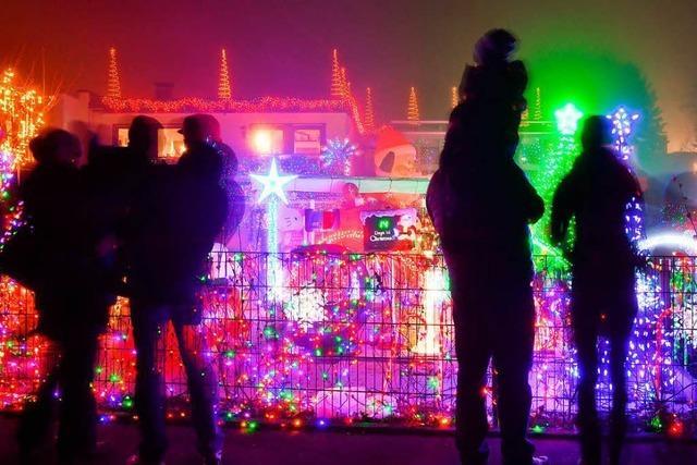 Warum Deutsche jetzt auch ihre Häuser beleuchten