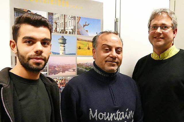 Wie zwei Flüchtlinge aus Syrien in Rheinfelden auf ihre Familien warten