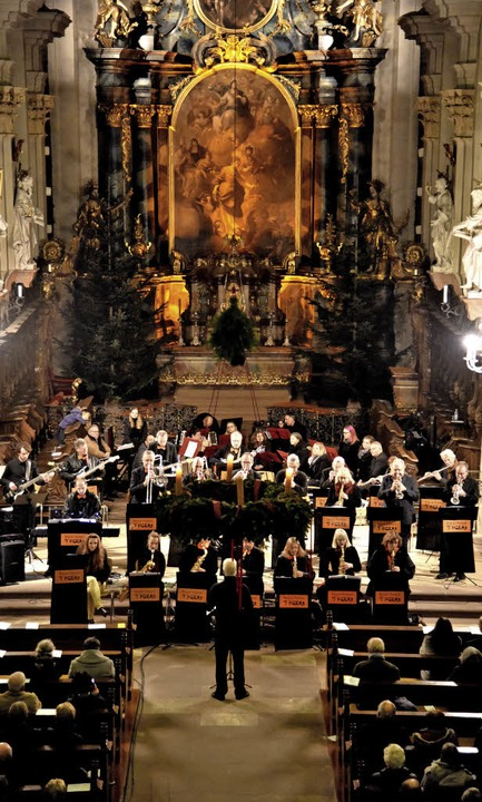 Swing und Jazz in St. Margarethen - di...lugen zum Advent einmal andere Töne an  | Foto: Markus Zimmermann