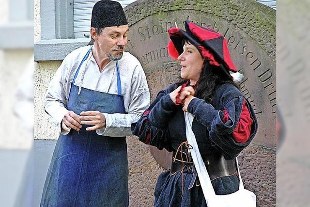 Seit 25 Jahren sind Barbara und Thomas Kern Stadtführer in Waldkirch