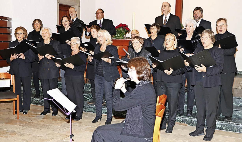 Mit Liedern und Musik zum Advent stimm...im Fischer auf das Weihnachtsfest ein.    Foto: Martha Weishaar