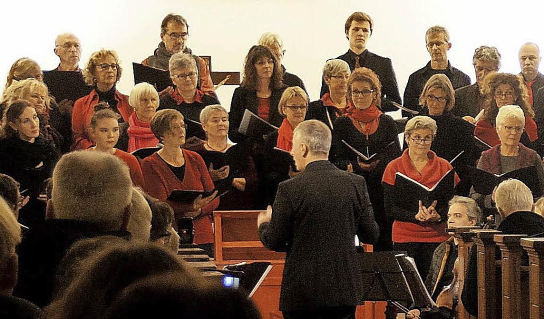 Der Chor der Musikschule Nördlicher Breisgau  | Foto: Johannes Sonnenberg