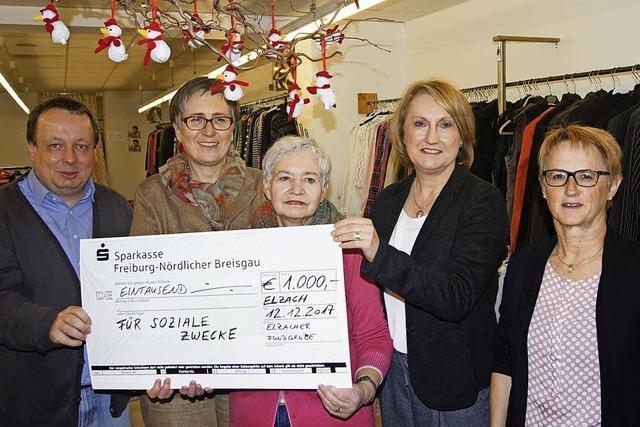 Spenden für soziale Zwecke gespendet