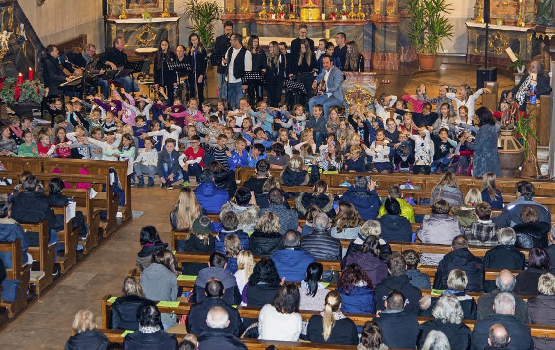 Die Kinder standen – in diesem F...;  am Sonntag in Rust im Mittelpunkt.   | Foto: Olaf Michel