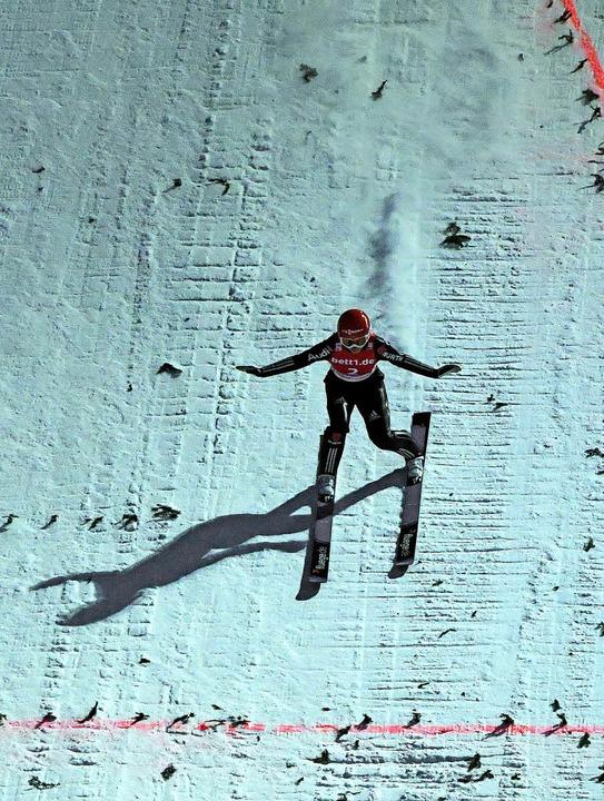 Traumhaft sichere Landung nach zwei fa...andidatin für die Olympischen Spiele.   | Foto: wolfgang Scheu