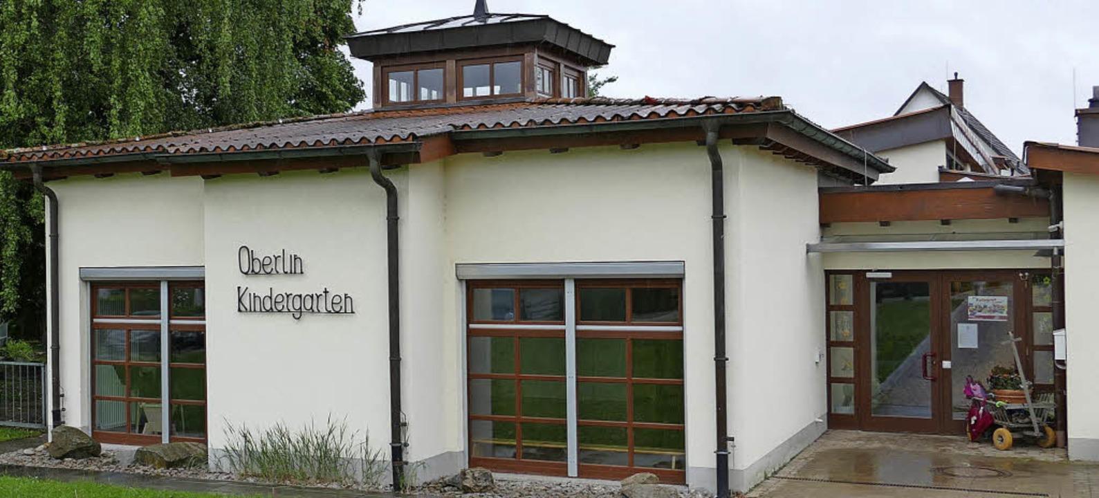 Gerüchte im Ort, wonach der Oberlin-Ki... dementierte Bürgermeister Schneucker.  | Foto: U. Senf