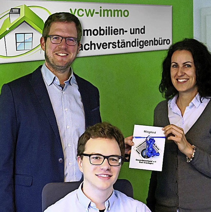 <BZ-FotoAnlauf>VCW-Immo Bad Krozingen ...tten, Moritz Hoffmann, Vicky Wilhelm      Foto: Privat