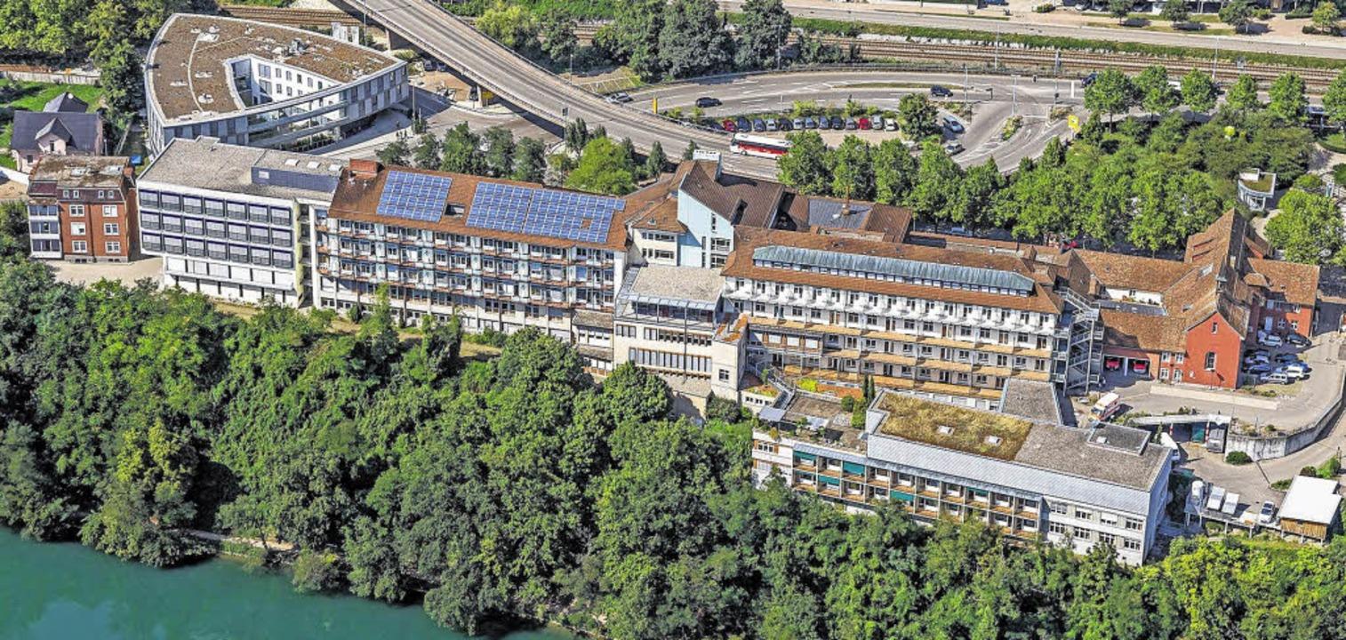 Das Spital in Waldshut  | Foto: Spitäler Hochrhein GmbH
