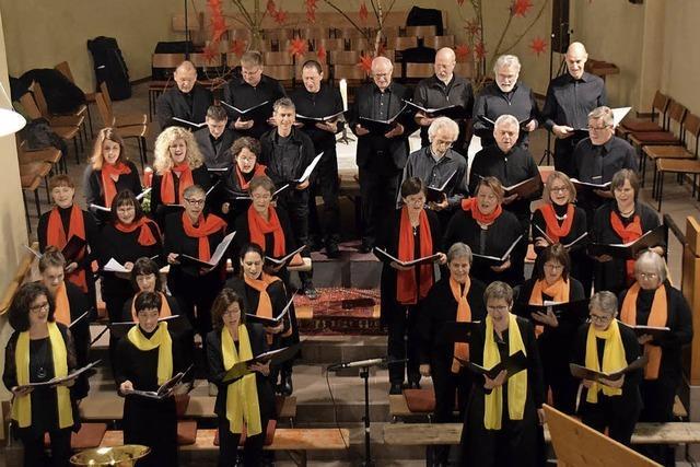 Gesang voller Freude und Harmonie