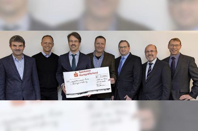 Wieder 2000 Euro für die Bürgerstiftung