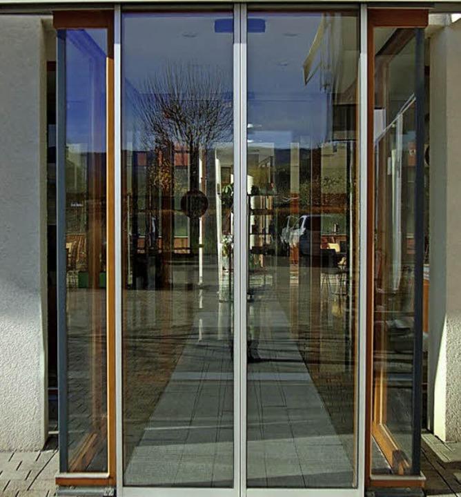 Eingang zum Prälat-Stiefvater-Haus    Foto: Lena Steinbauer