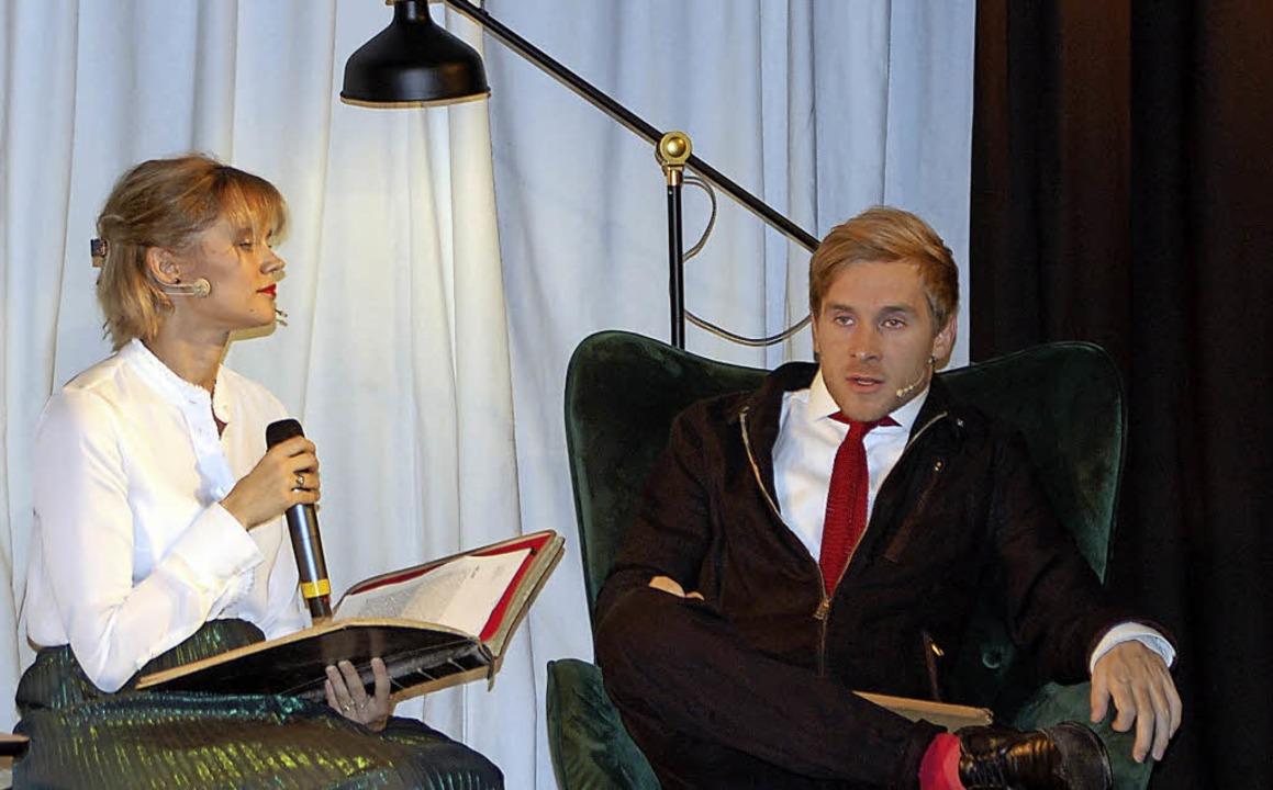 Beeindruckendes Paar: Sarah und Samuel Koch   | Foto: Barbara Puppe