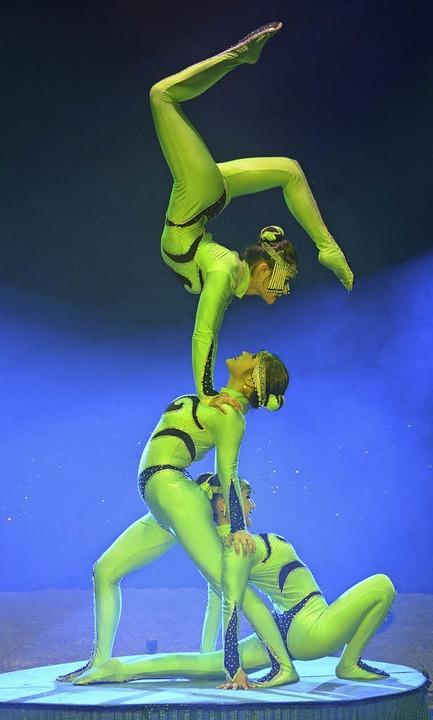 Die Puje-Truppe – Multitalente a...i und Teil eines 14-köpfigen Ensembles    Foto: circus