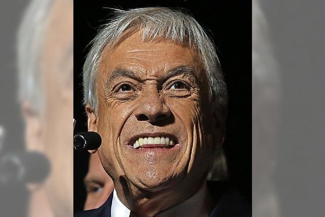 Piñera zum zweiten Mal Präsident in Chile