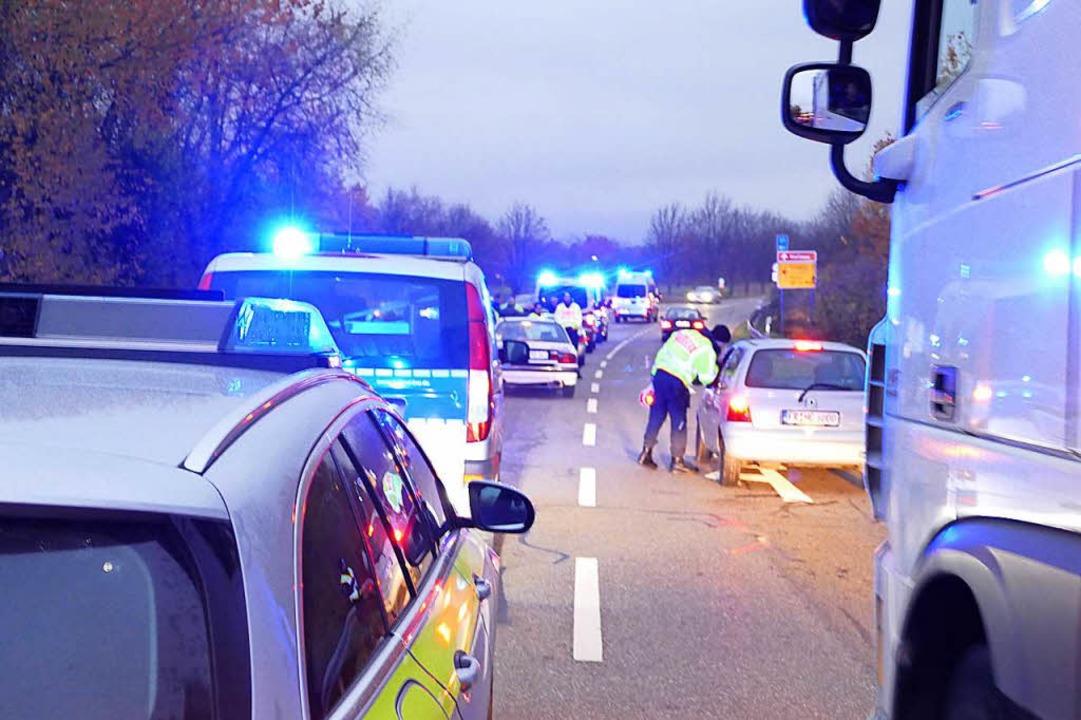 Die vielen Kontrollen der Polizei habe...s die Zahl der Einbrüche wieder sinkt.    Foto: Ulrich Senf