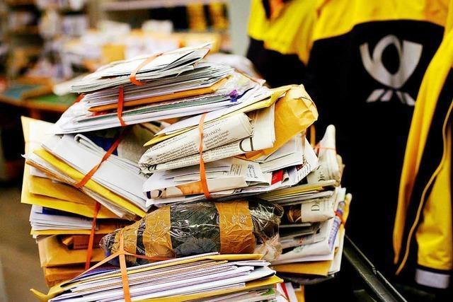 Wenn der Briefträger nicht täglich kommt