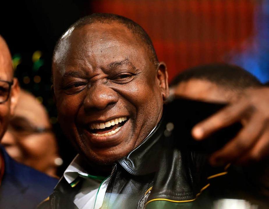 Cyril Ramaphosa.  | Foto: Themba Hadebe