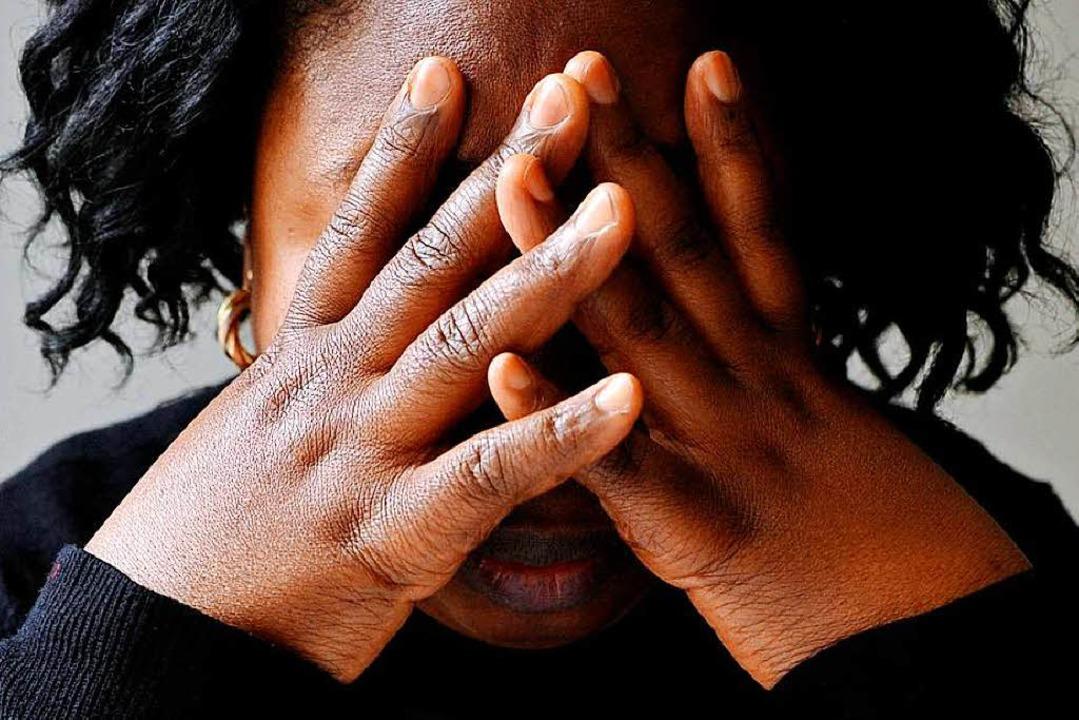 Der Bedarf an Traumatherapien bei Gefl...ach ihrer Ankunft in der neuen Heimat.  | Foto: dpa