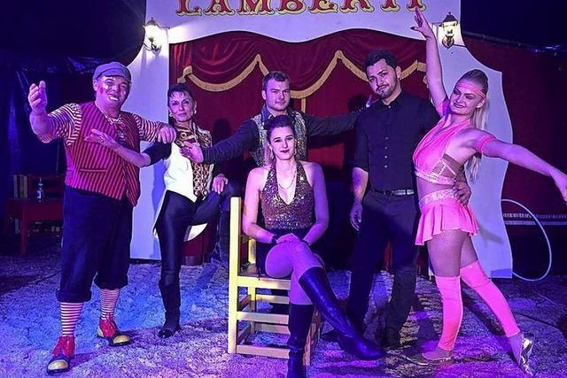 Zirkus Lamberti in Emmendingen