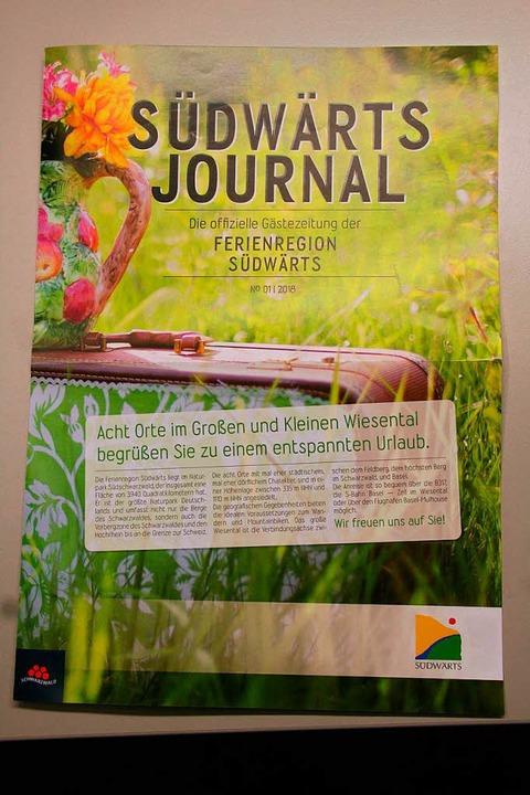Neu: das Südwärts-Journal  | Foto: Robert Bergmann