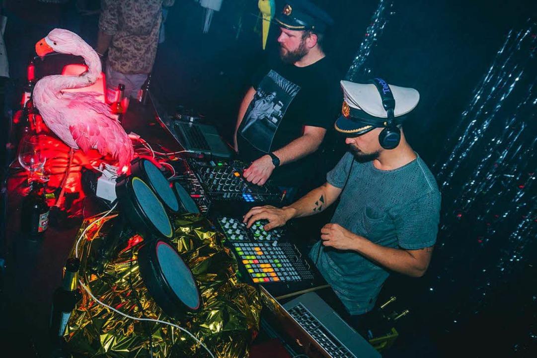 Veranstalter und DJ Alexander Hässler ...hoii-Party im November in der Passage.  | Foto: Pyunity