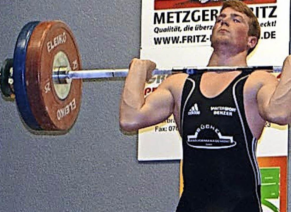Bester Eisenbacher: Daniel Herrmann holte 54,2 Punkte.   | Foto: zvg