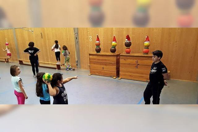 Handball-Grundschultag