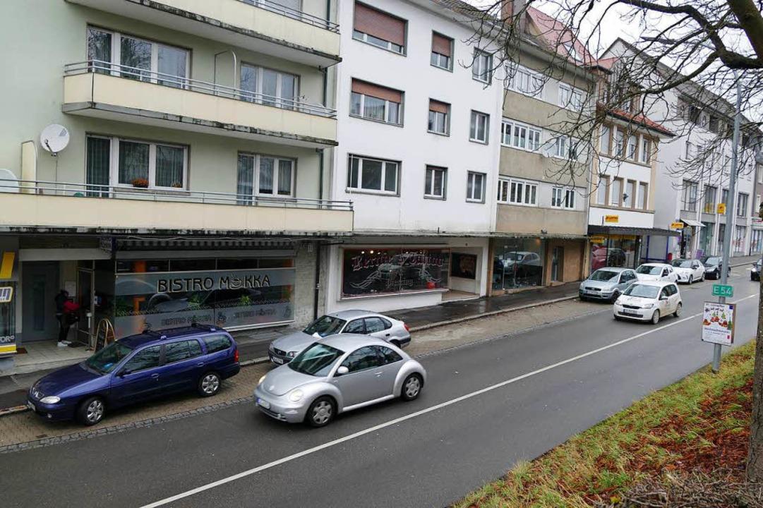Die Tiefgarage zum Hochrheincenter 2 s...r die Basler Straße angefahren werden.  | Foto: Verena Pichler
