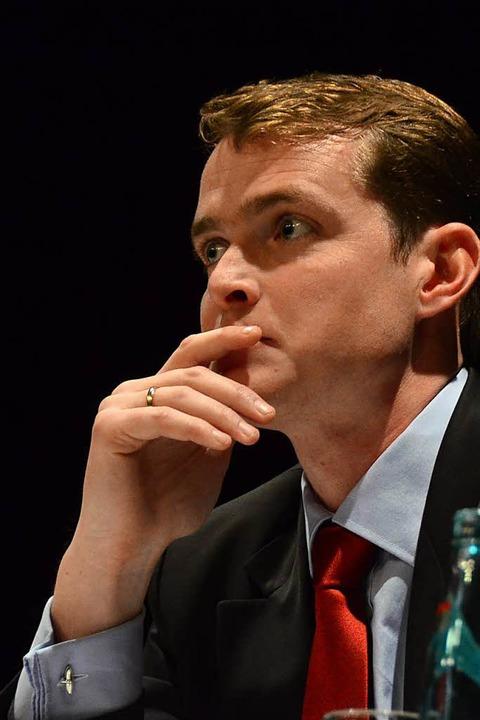 Oberrieds Bürgermeister Klaus Vosberg  | Foto: Markus Donner
