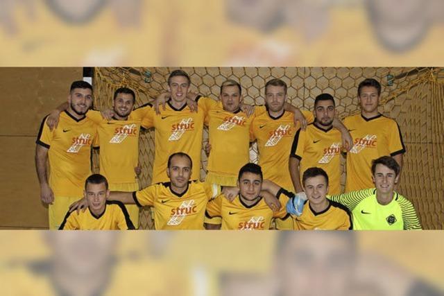 FV Haltingen gewinnt Futsal-Bezirksmeisterschaft