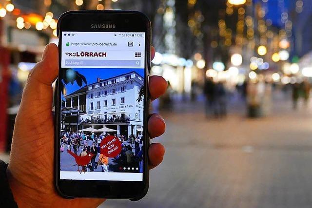 Ohne Internetseite geht es für die Händler in Lörrach kaum noch