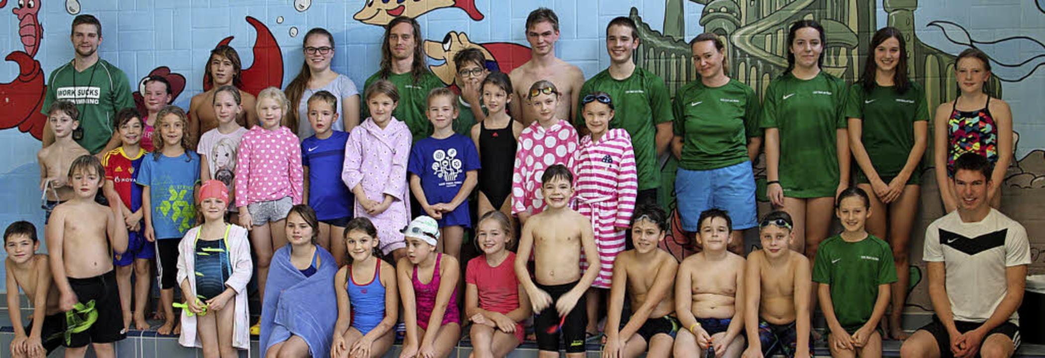 <BZ-FotoAnlauf>Schwimmsport:</BZ-FotoA...sterschaft  viele gute Platzierungen.     Foto: zvg