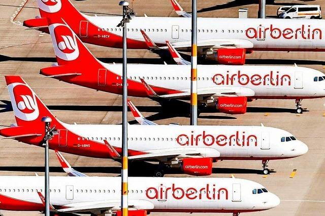 Air Berlin zahlt 40 Millionen an den Bund zurück