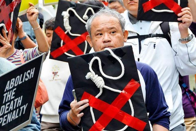 In Japan sind zwei Mörder gehängt worden