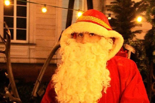 Fernando Traber ist der jüngste Hochseil-Weihnachtsmann