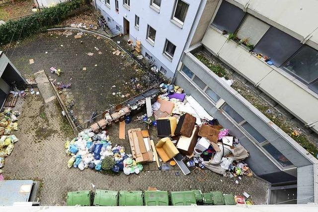 Nach einem Eigentümerwechsel kam die Müllabfuhr nicht mehr