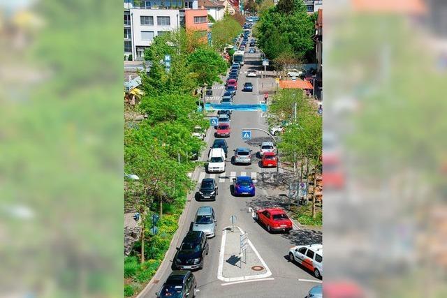 Weil-aktiv will Innenstadt zum Shared Space machen – Fußgängerzone zwischen Schlaufenkreisel und Volksbank