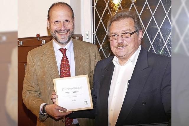 Ehrennadel für Kehrberger