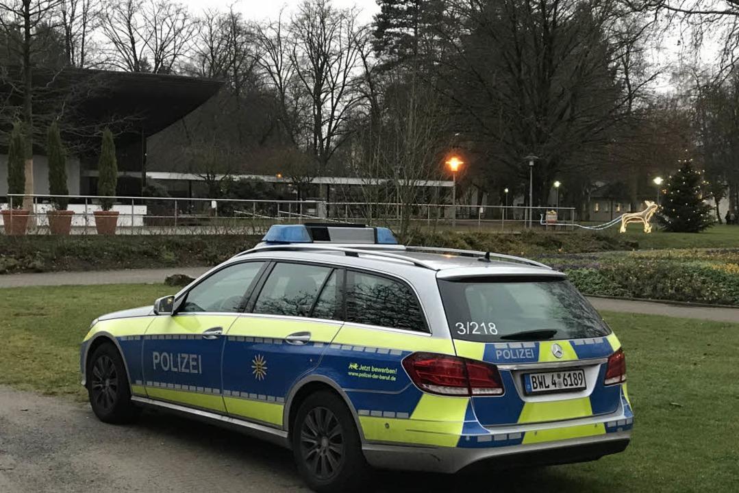 Nach dem möglichen Sexualdelikt war am...rstärkte Polizeipräsenz zu beobachten.  | Foto: Hans-Peter Müller