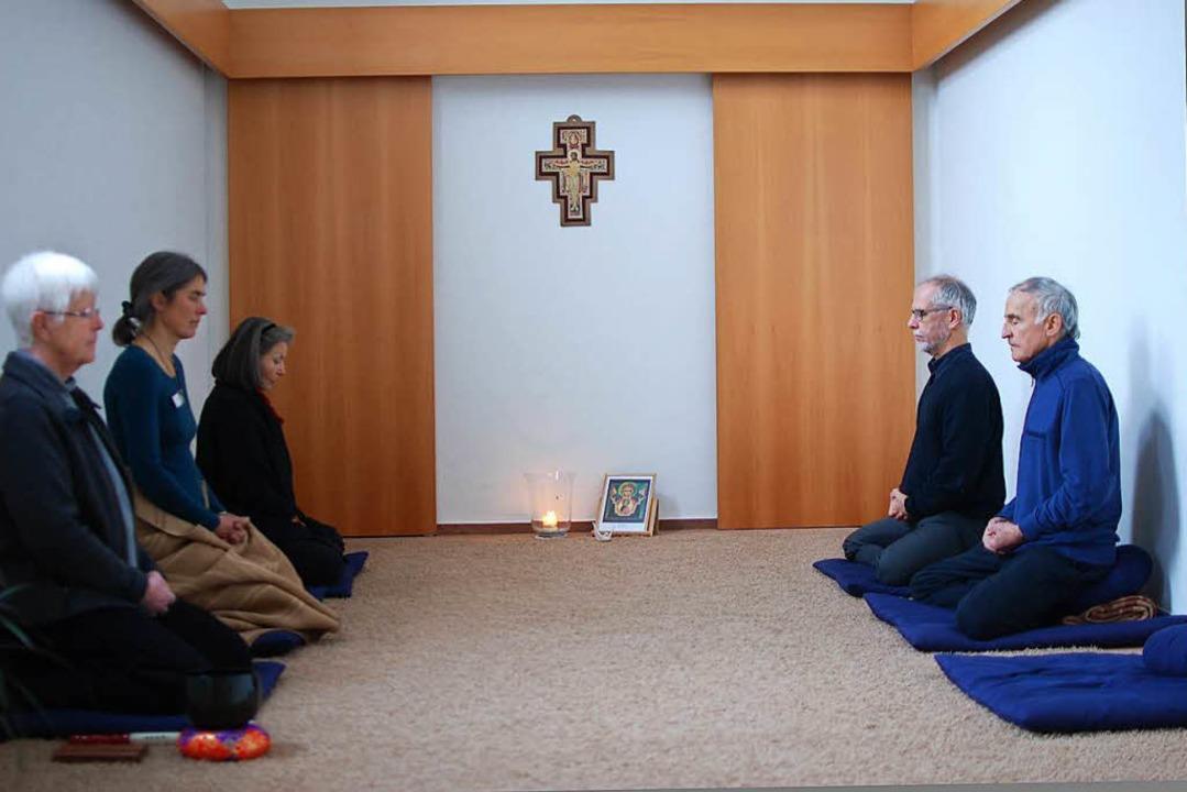 Meditation in St. Peter    Foto: Louis Groß