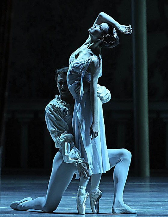 "Pas de deux: ""Romeo und Julia""    Foto: Natasha Razina"